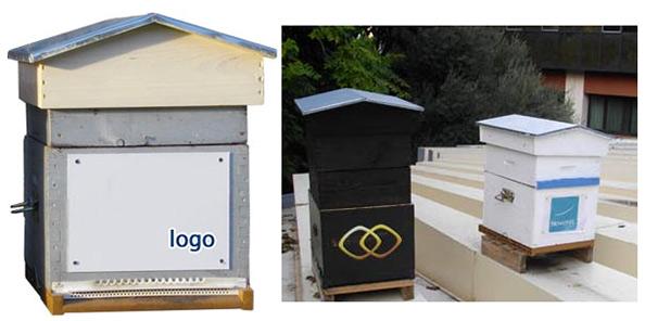 logos sur ruches