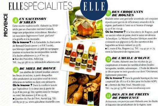 Magazine Elle en Provence