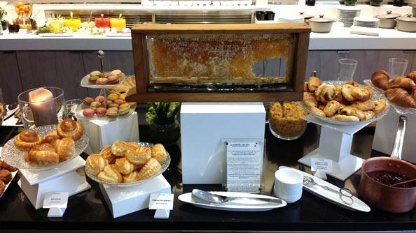 Miel en rayon pour buffets gastronomiques
