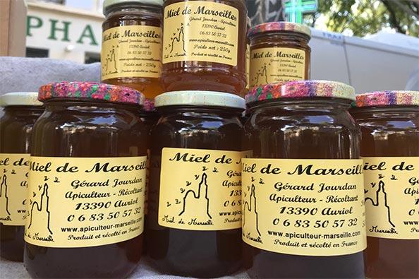 Pots de miel de Marseille